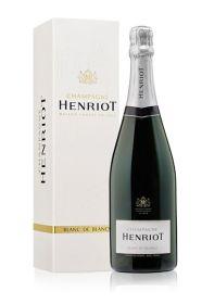 Henriot Blanc de Blancs Brut NV with gift box