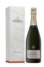 Henriot Brut Souverain NV with gift box